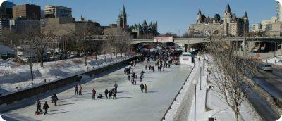 winter in Canada winteractiviteiten