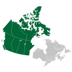 Op vakantie naar West-Canada, regio's van Canada