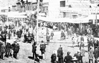 Dawson City Filmcollectie geschiedenis Yukon