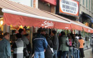 Gerookt vlees Montreal culinair Schwarz
