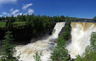 Herfstwandelingen Thunder Bay Ontario Kakabeka Falls