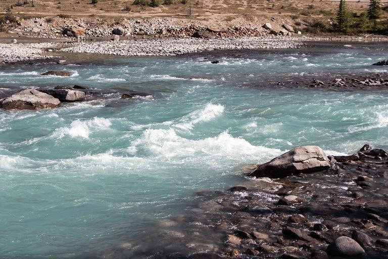 Jasper National Park Athabasca River