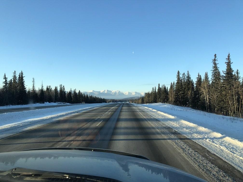 Jasper National Park Winter