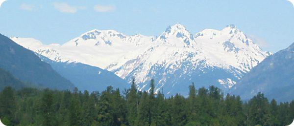 Vulkanische activiteit Mount Meager