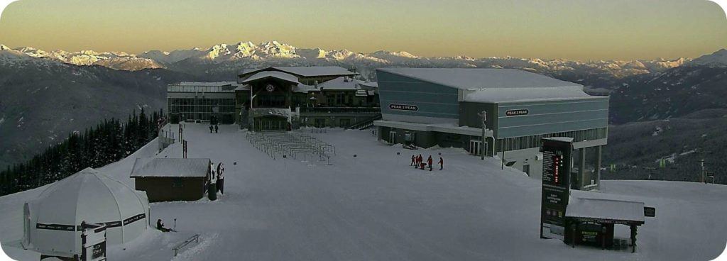 Sneeuwzekerheid skiresort Whistler Blackcomb Roundhouse