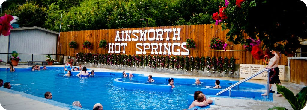 hotsprings Rockies Ainsworth Banff Miette