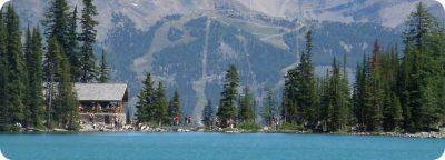 Lake Agnes Teahouse wandeling Lake Louise