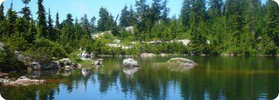 Mystery Lake wandeling Mount Seymour Vancouver