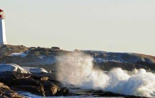 Schilderachtige Roadtrips Nova Scotia Peggy's Cove