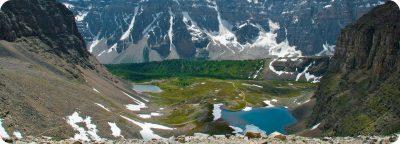 Sentinel Pass Larch Valley Hike Moraine Lake