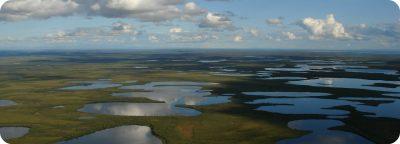 Vuntut National Park Yukon Canada