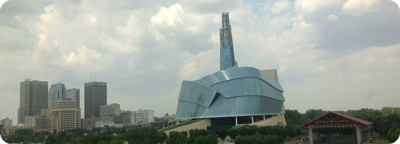 Winnipeg Highlights Canadian Museum Human Rights