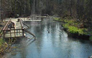 warmwaterbronnen British Columbia Liard Hot Springs