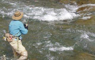 Pinware River Labrador vliegvissen