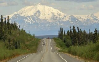 highlights langs de Alaska Highway