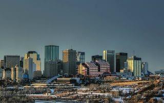 Highlights van Edmonton Alberta