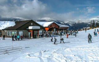 Skien bij Revelstoke Mountain Resort