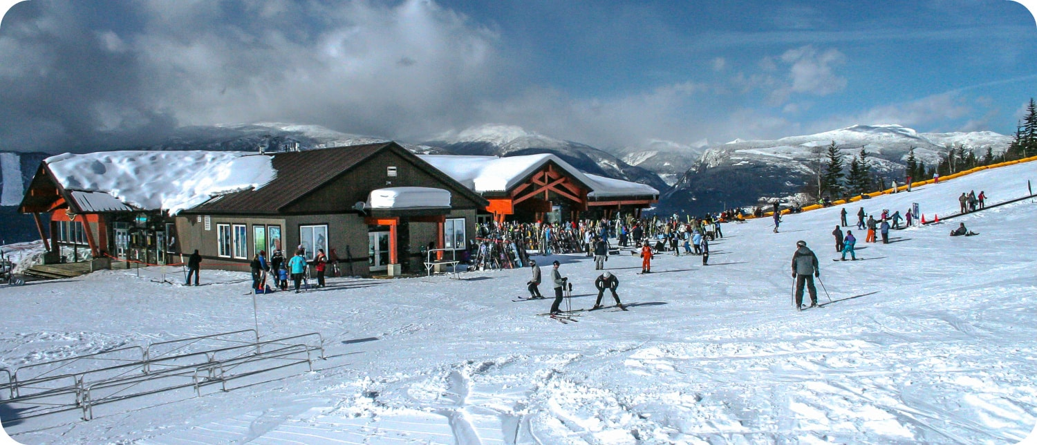 Skien bij Revelstoke Mountain Resort