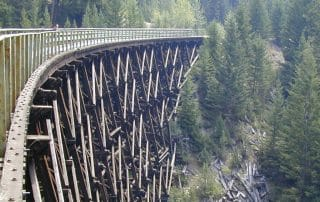 Kettle Valley Railway Myra Canyon British Columbia