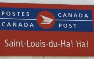 Leukste plaatsnamen van Canada
