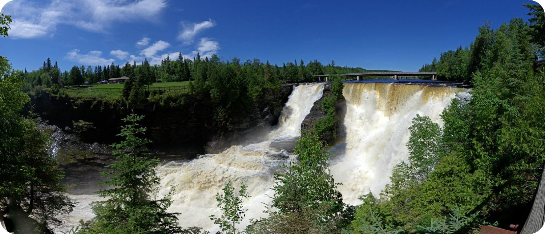 Ontario klimaat weer toerisme landschap Kakabeka Falls
