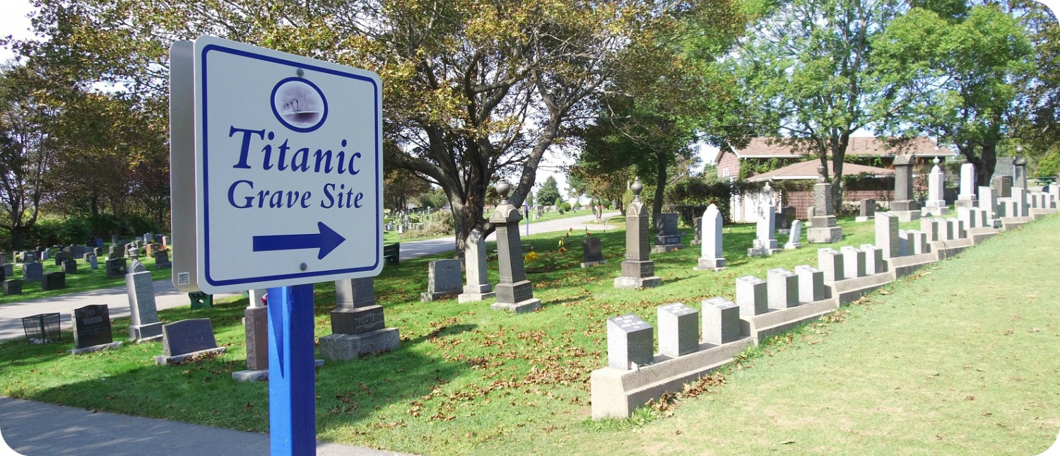Fairview Cemetery Halifax Titanic