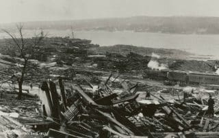 Halifax Explosion Nova Scotia Canada