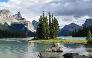 Spirit Island Maligne Lake Cruise Jasper National Park