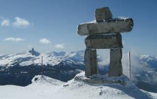 Winteractiviteiten van Whistler