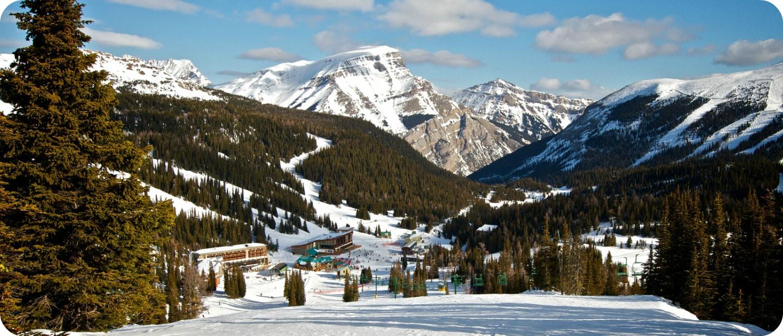 Wintersport naar Banff Sunshine Village