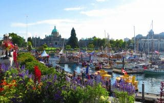 highlights van Victoria Vancouver Island Canada Inner Harbour