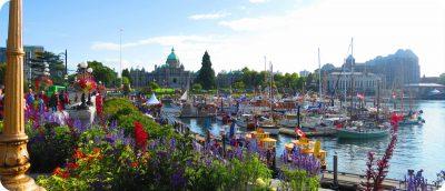 highlights van Victoria Vancouver Island Canada Inner Harbour
