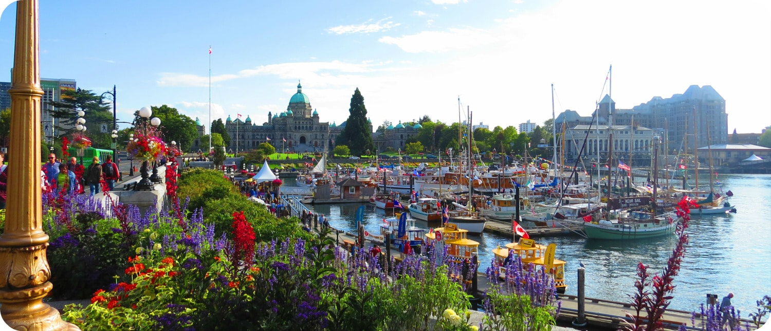 highlights Victoria Vancouver Island Canada Inner Harbour