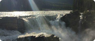 Athabasca Falls Jasper Alberta Canada