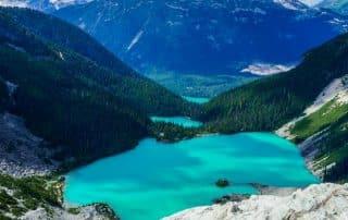 Joffre Lakes Provincial Park wandelen