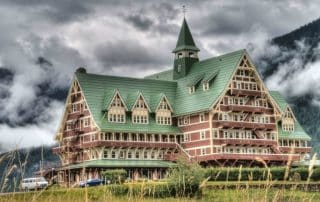 Prince of Wales Hotel in Waterton Lakes