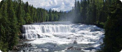 Wells Gray Provincial Park watervallen