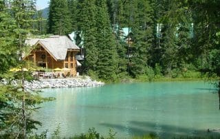Yoho National Park highlights Emerald Lake Lodge