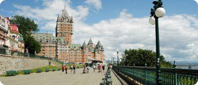 highlights van Québec City bezienswaardigheden