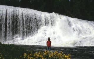 watervallen van Wells Gray Provincial Park