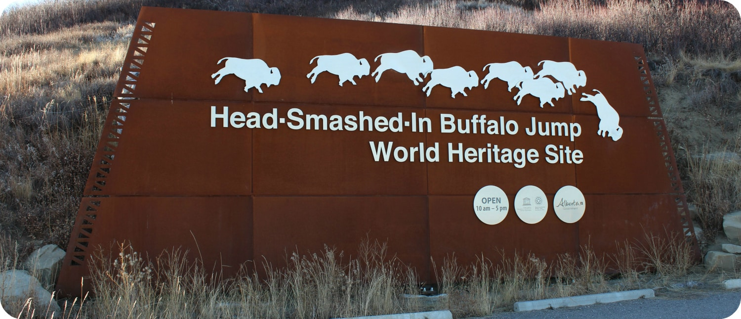 Head-Smashed-In Buffalo Jump Alberta