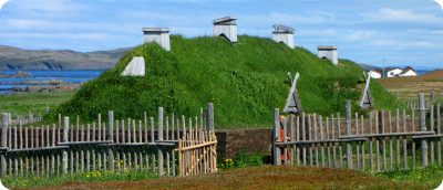 Vikingen L'anse aux meadows Newfoundland