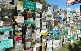 Sign Post Forest Watson Lake Yukon