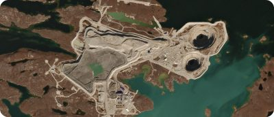 Diavik Diamond Mine Northwest Territories Canada