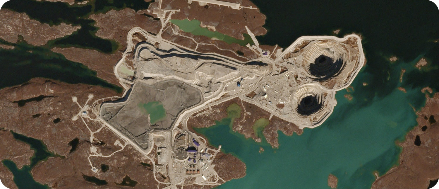 Diavik Diamond Mine Northwest Territories Canada