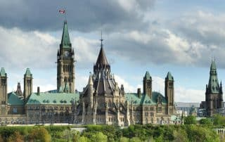 Hoofdstad van Canada Ottawa Parliament Hill