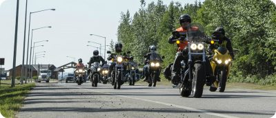 motorreizen door Canada routes