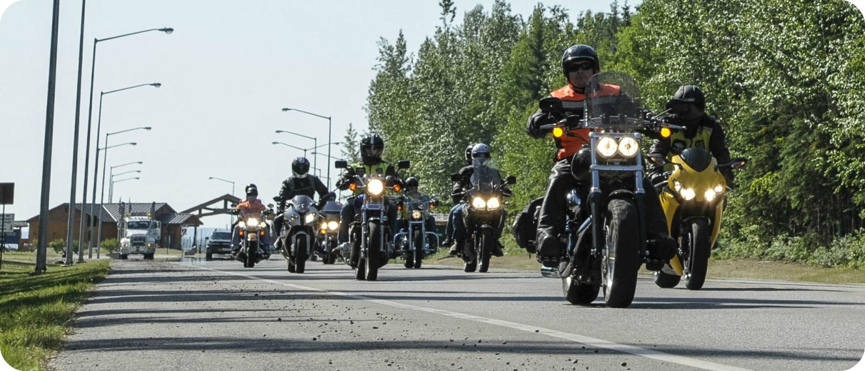 motorreizen naar Canada routes