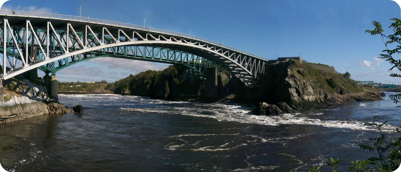 Reversing Falls Saint John New Brunswick