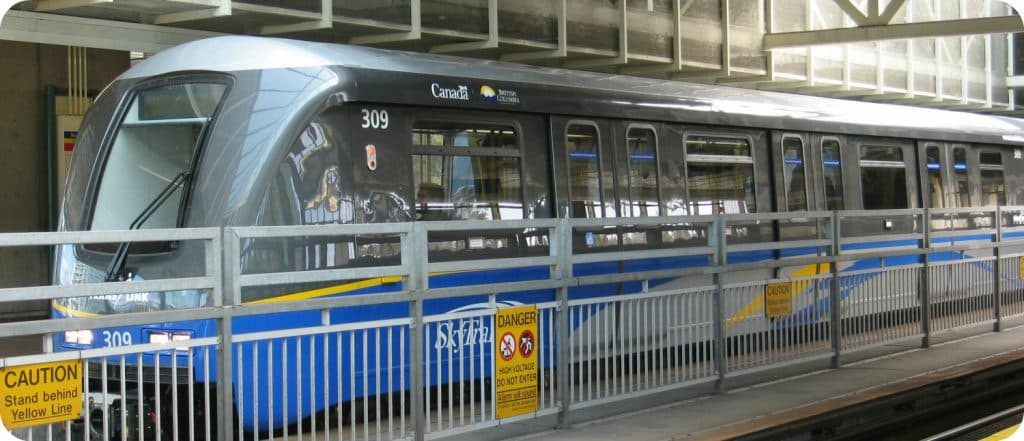 Skytrain Eén dag in Vancouver highlights